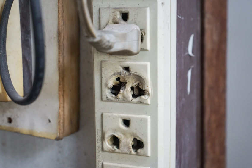 Loose Electrical Outlet